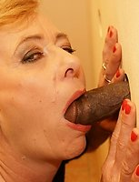 Old lady still hungry for big cock